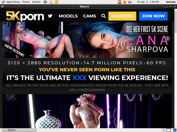 Free 5K Porn Hacked Login
