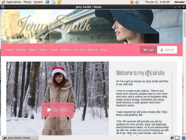 JenySmith Membership Deal
