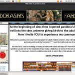 Pandora Sims Premium Account