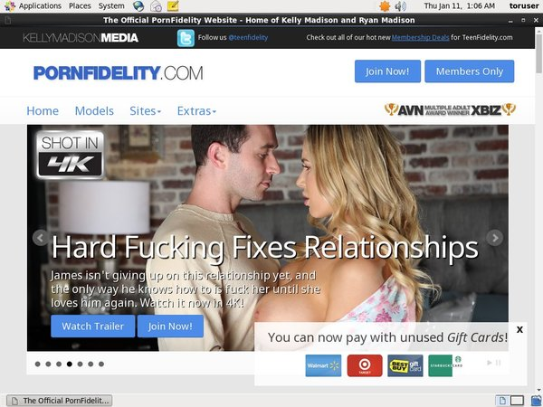Pornfidelity.com Free Account Password