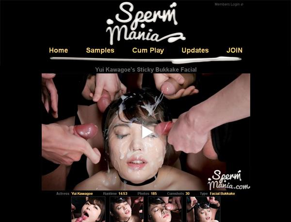 Spermmania.com Special Offer