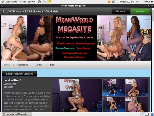 Trial Membership For Meanworld.com