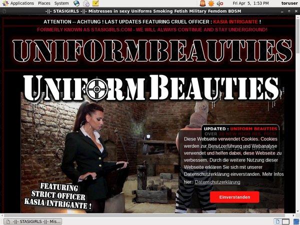 Uniform Beauties Free Trial Special