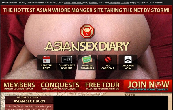 Asiansexdiary.com Member Access
