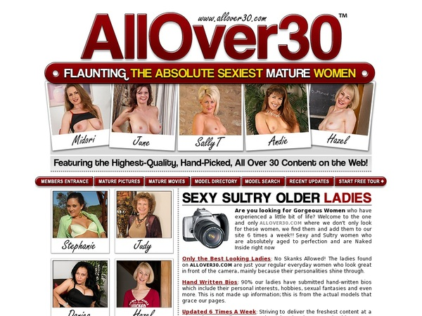 All Over 30 Original Register Free