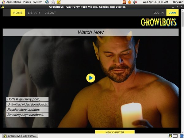 Growlboys.com Password And Account