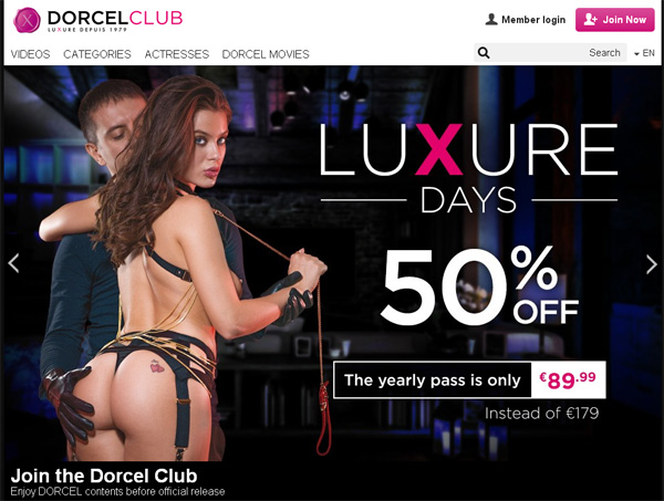 Discount Dorcelclub.com Account