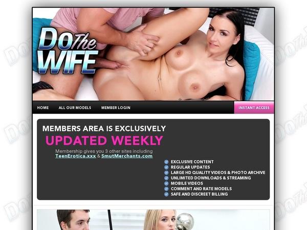 Dothewife.com Trial Memberships