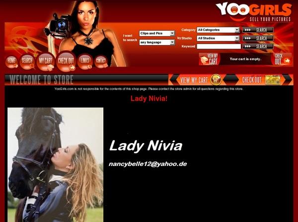 Free Lady Nivia! Membership Account