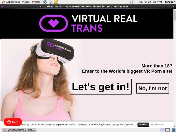 Virtual Real Trans Sign In