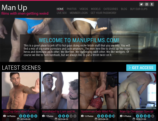 New Free Man Up Films Account